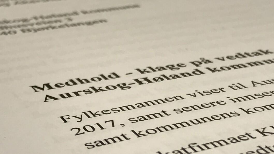 Fylkesmannen i Oslo og Akershus fastslår at Aurskog-Høland har krevd tilbakebetalt fire millioner kroner fra en privat barnehage uten å dokumentere at barnehagen har gjort noe i strid med loven.