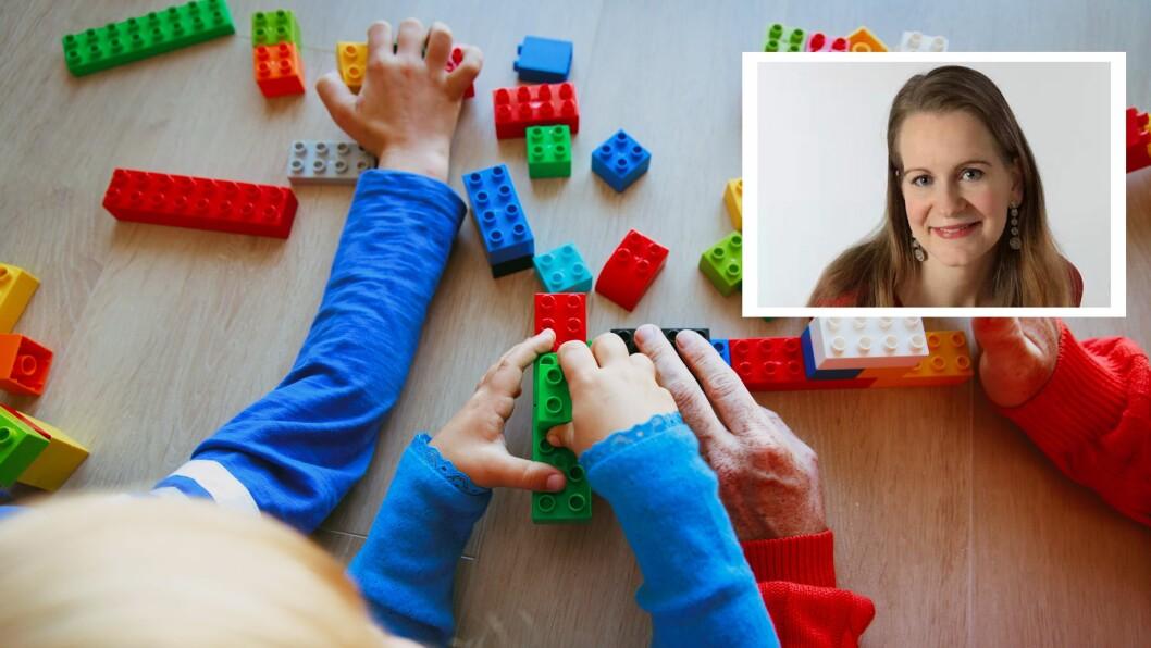 Therese Halle Isene er barnehagelærer, miljøterapeut og trebarnsmor.