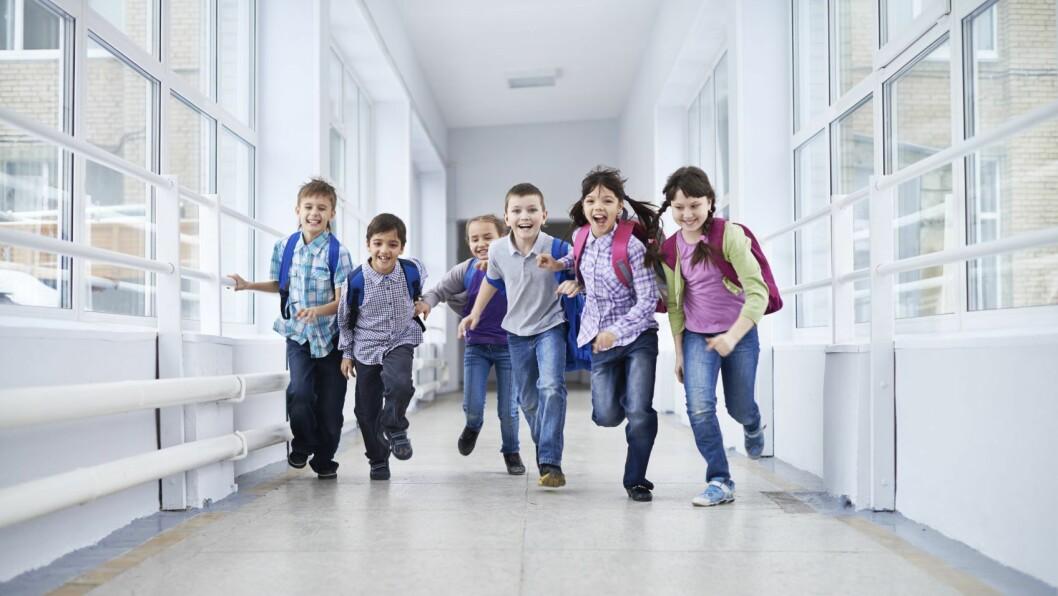 Overgangen mellom barnehage og skole kan være vanskelig.