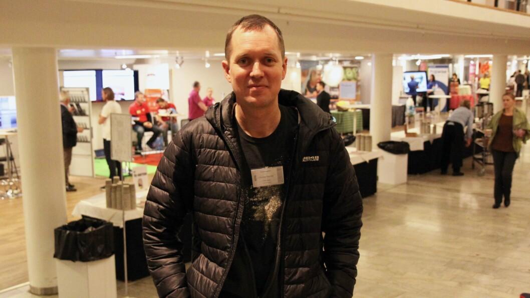 Christian Eidevald er barnehagelærer og lektor ved Universitetet i Stockholm. Under barnehagekonferansen Förskoledagarna holdt han foredrag om hvordan man kan drive systematisk kvalitetsarbeid i barnehagen.