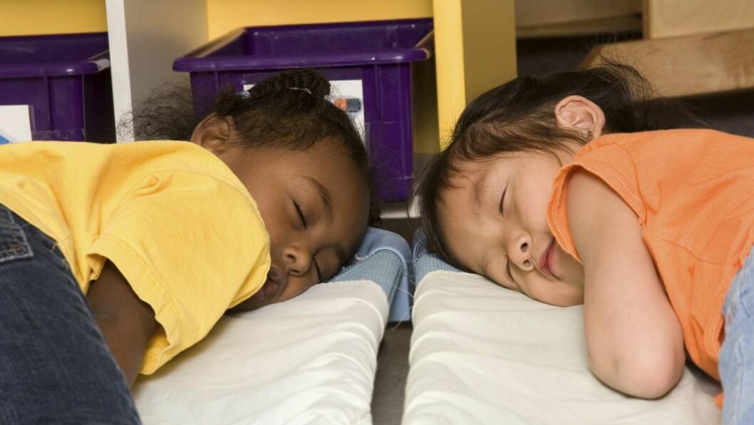 Rebecca Spencer mener at hviletid burde være en del av enhver barnehagedag, uavhengig av barnets alder.