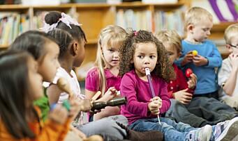 Jo tidligere barnehagestart, jo bedre kan minoritetsbarna norsk