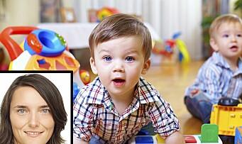 Ny forskning: Flere menn i barnehagen – flinkere barn på skolen