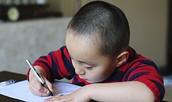 Vil lage nytt kartleggingsverktøy for fireåringer