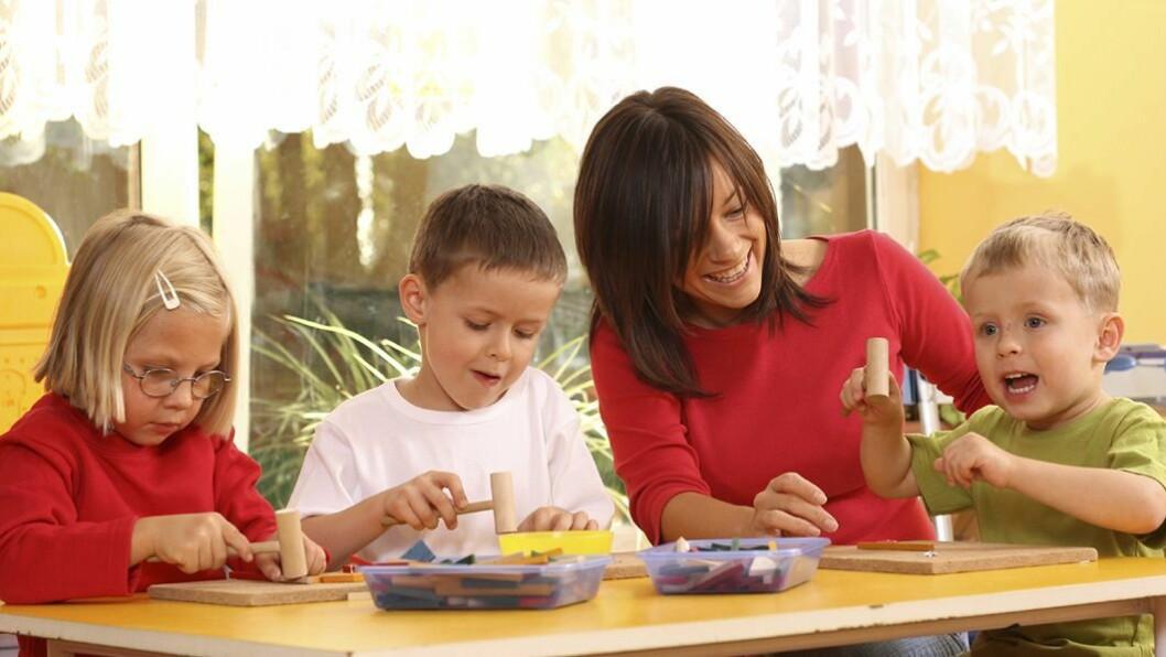 Private barnehager skårer høyt hos foreldre.