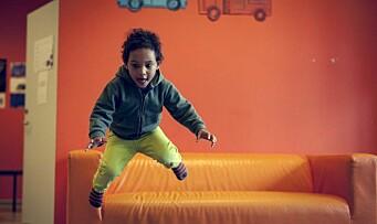 – Barn under tre år tar også risiko i lek