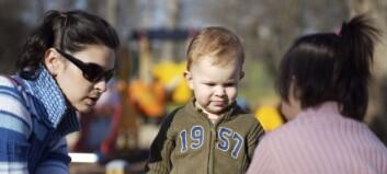 Frilek stimulerer småbarns språkutvikling
