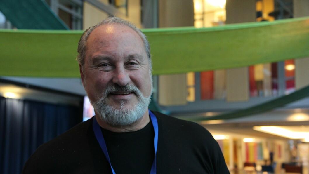 Anders Farstad, presseansvarlig for Menn i barnehager, Asker.