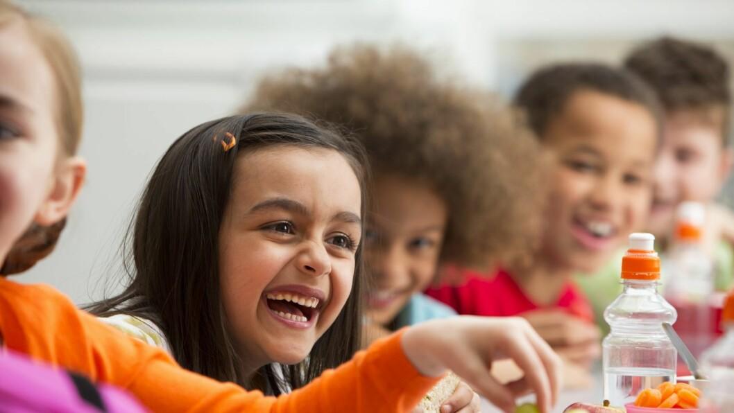 Aktive barn trenger rett mat.