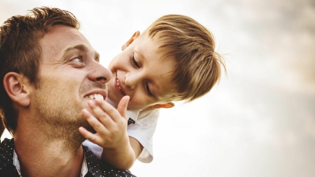 Sosiale stunder med barn er viktig for både barn og voksen.