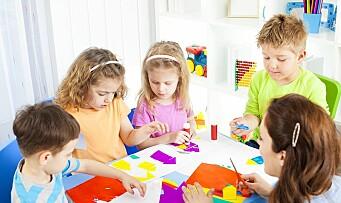 Barnehagelærerne rømmer ikke barnehagen lenger