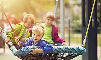 Ni av ti barn hadde barnehageplass i fjor