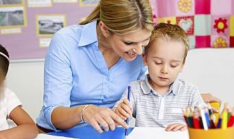 Betalte utdanningen og doblet antall barnehagelærere