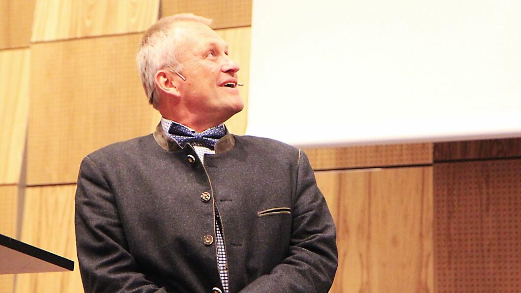 Professor ved Institutt for barnehagepedagogikk og profesjonskunnskap ved HSN, Thomas Moser.