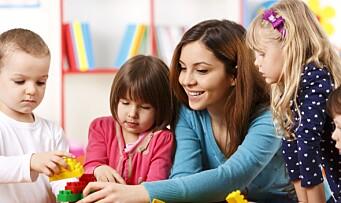 Hvorfor skal barn gå i barnehage?