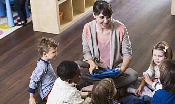 Bedre bruk av teknologi i barnehagen