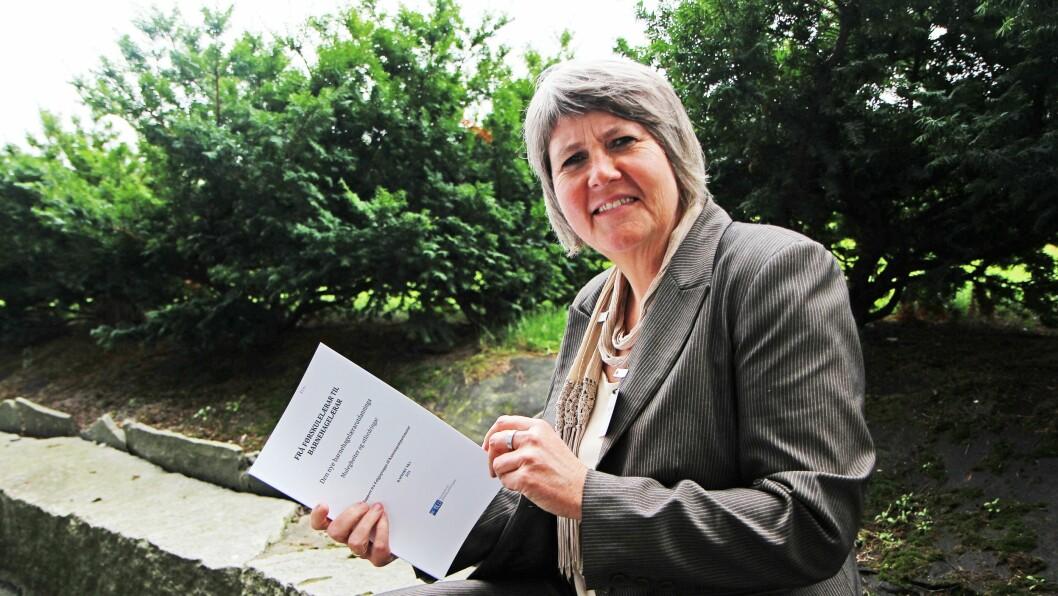 Mimi Bjerkestrand leder Følgegruppa for barnehagelærerutdanningen.
