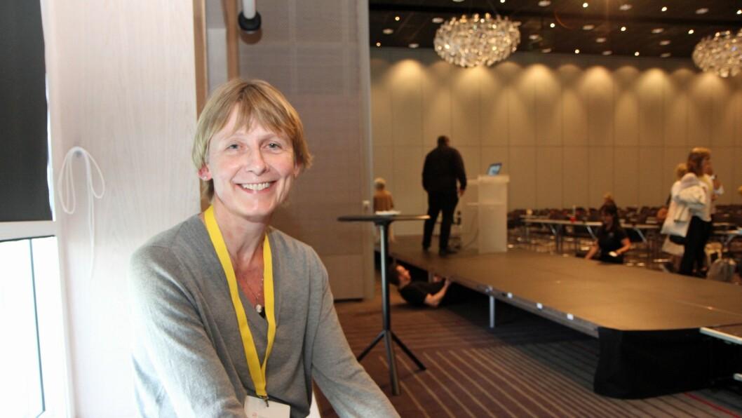 Beret Bråten i Fafo på Utdanningsdirektoratets kvalitetskonferanse i Bergen.