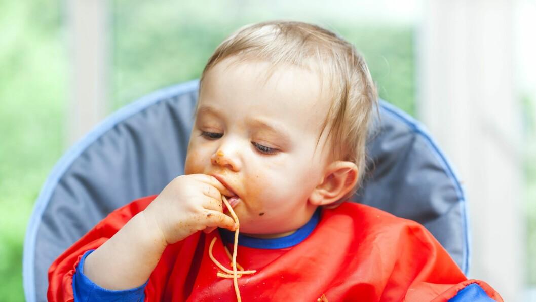 Britisk undersøkelse viser at 79 prosent av britiske barn mellom ett og fire år blir gitt mer enn den anbefalte porsjonstørrelsen.