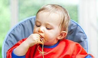 Gir småbarn for store porsjoner