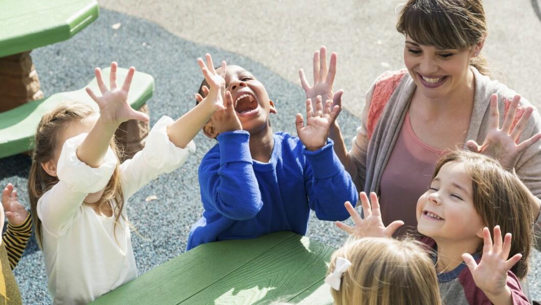 Nærhet til barna og leken er viktig.