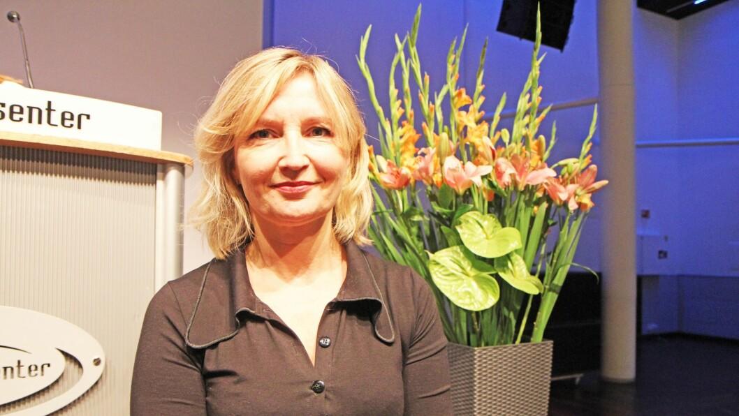Ida Brandzæg, psykologspesialist for Circle of Security, presenterte metoden foran 600 barnehagefolk på barnehagekonferansen Nordiske Impulser i Oslo .