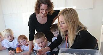 Skal forske på realfag i barnehagen