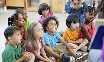 Andelen minoritetsspråklige barn i Oslo-barnehagene øker kraftig
