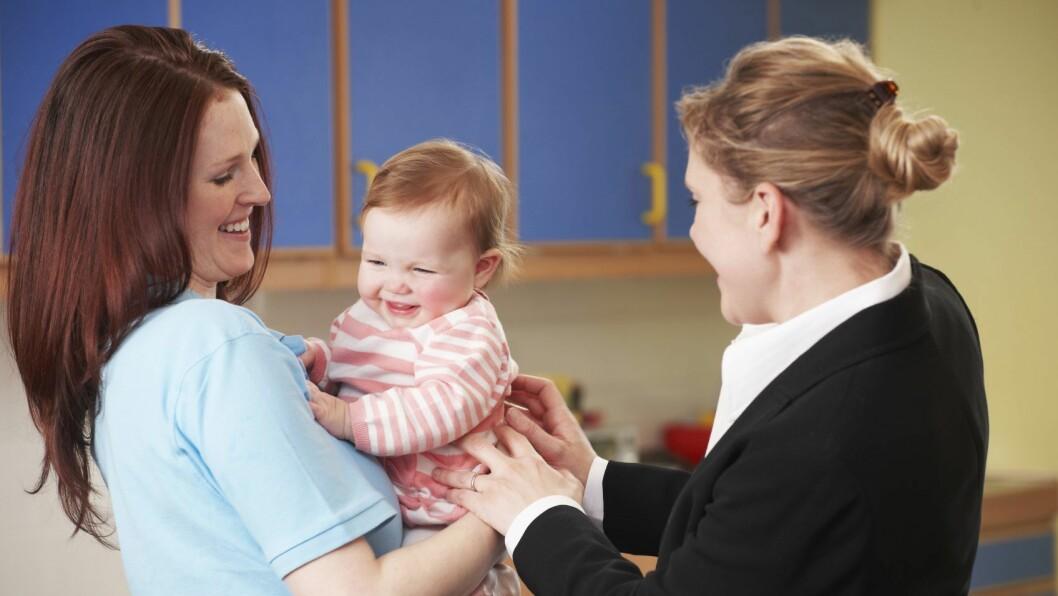 Forskere fra Aarhus Universitet i Danmark har utviklet en metode som skal gi barnet en skånsom overgang fra hjem til barnehage.