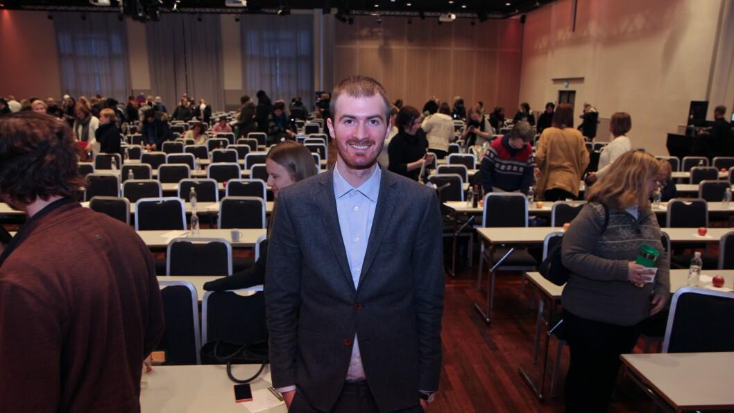 Erik Eliassen er stipendiat og leder et forskningsprosjekt om tidlig barnehagestart i regi av GoBan.