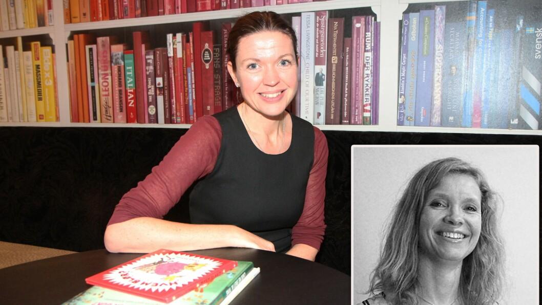 Cecilie Dyrkorn Fodstad, høyskolelektor i norsk og Christine B. Østbø Munch, førsteamanuensis i norsk, DMMH.