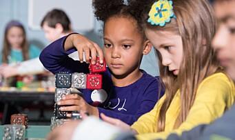 – Barn så små som tre år kan programmere