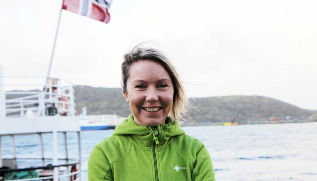 Professor ved DMMH, Ellen Beate Sandseter, mener risikoleken er truet. I forrige uke deltok hun på Nordiske Impulser i regi av Utviklingsforum for å snakke om risikoleken. (Arkivbilde).