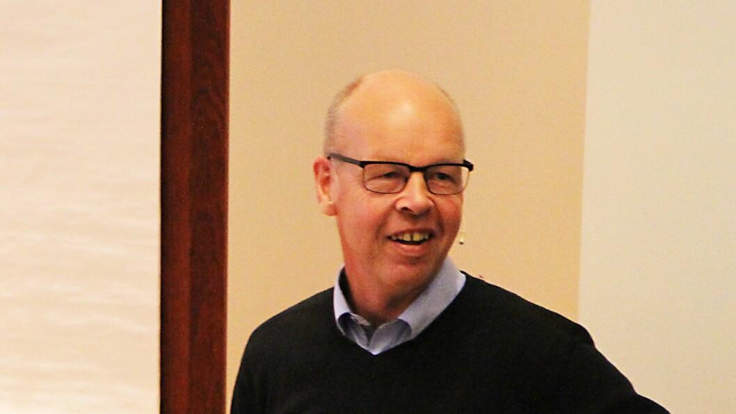 Thomas Nordahl er professor i pedagogikk ved Høgskolen i Hedmark. (Arkivfoto).