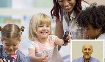 Amerikansk forsker: – Barn bør ikke starte i barnehagen før de er 24-30 måneder gamle