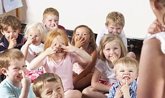 Forskerne sjekket: Nesten bare gamle sanger i barnehagen