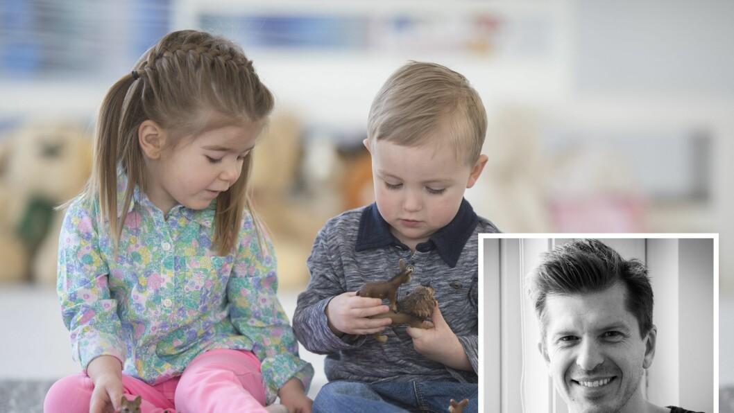 Frode Stenseng har forsket på samspillet mellom psykisk helse og sosial fungering i barnehagen.