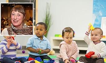 Forsker: – Kvaliteten i norske barnehager ikke like god som forventet