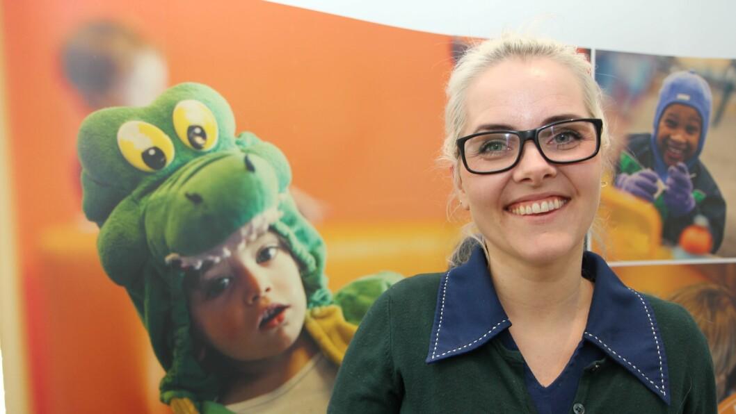 Elisabeth Brekke Stangeland, doktorgradsstipendiat ved Nasjonalt senter for leseopplæring og leseforskning ved Universitetet i Stavanger, har forsket på språk i barnehagen.