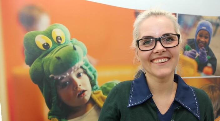Gutter mindre interessert i språkaktiviteter i barnehagen