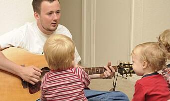 Fire gode grunner til å synge for barn