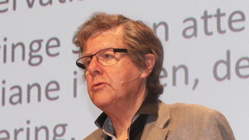 Peder Haug, professor i pedagogikk ved Høgskulen i Volda.