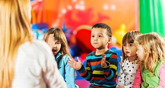 – Barnehagehverdagen gjennomsyres av regler