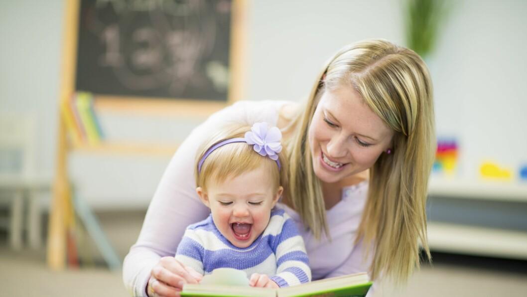 Små barn er helt avhengig av å knytte gode relasjoner til de voksne for å kunne utvikle seg og lære.