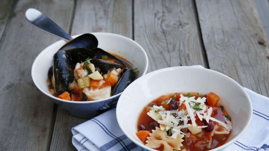 Har du en god base av økologiske grønnsaker og kraft, har du mulighet til å lage et utall forskjellige supper.