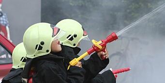 Ha brannøvelse i barnehagen
