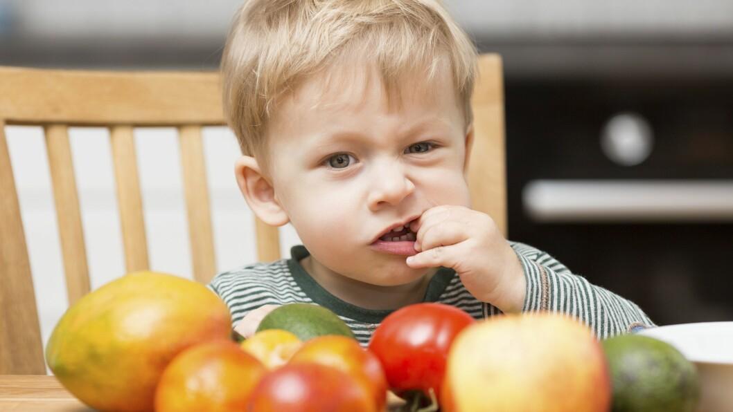 Det er helt normalt at barn er selektive i matveien.