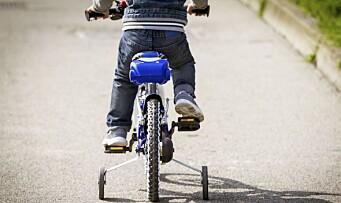 Derfor bør du sykle til barnehagen sammen med barna