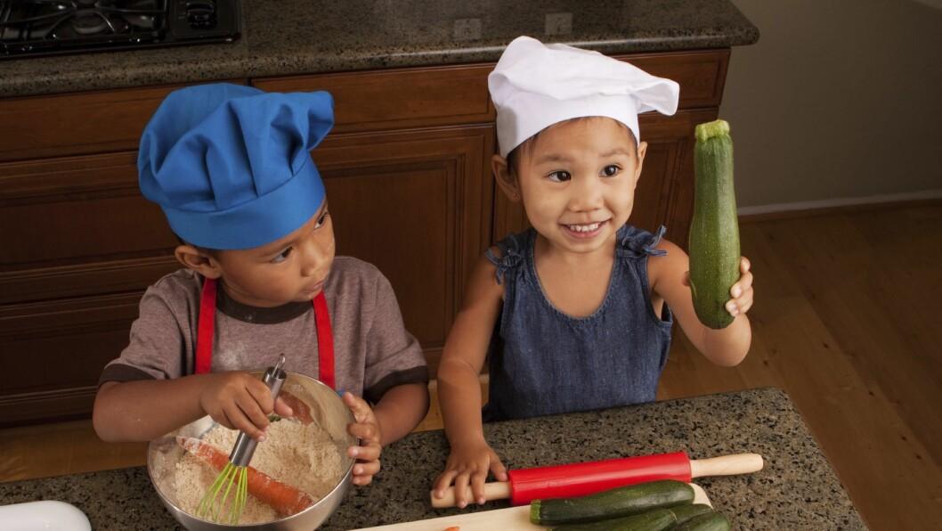 Det er viktig at barn har et sunt kosthold og vet hvor maten kommer fra.