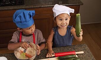 Vil ha mer grønnsaker til barna